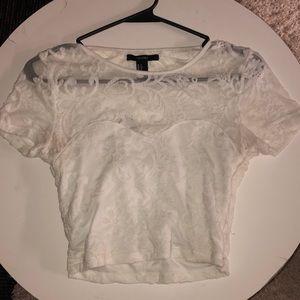 lace crop top